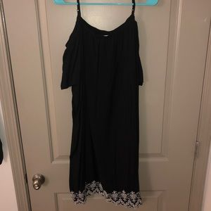 Old Navy cold shoulder dress